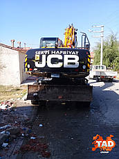 Колісний екскаватор JCB JS200W (2013 м), фото 2