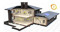 Проектирование раздела электрооборудование (ЭО, электроснабжение) частного дома