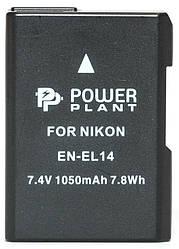 Аккумулятор PowerPlant Nikon EN-EL14 Chip 1050mAh (DV00DV1290)