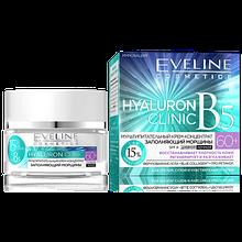 Крем мультипитательный для лица 60+  Hyaluron Clinic В5 Eveline Cosmetics, 50мл Эвелин