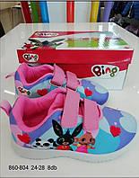 Кроссовки для девочек оптом, Disney, 24-28 рр.,  № 860-804