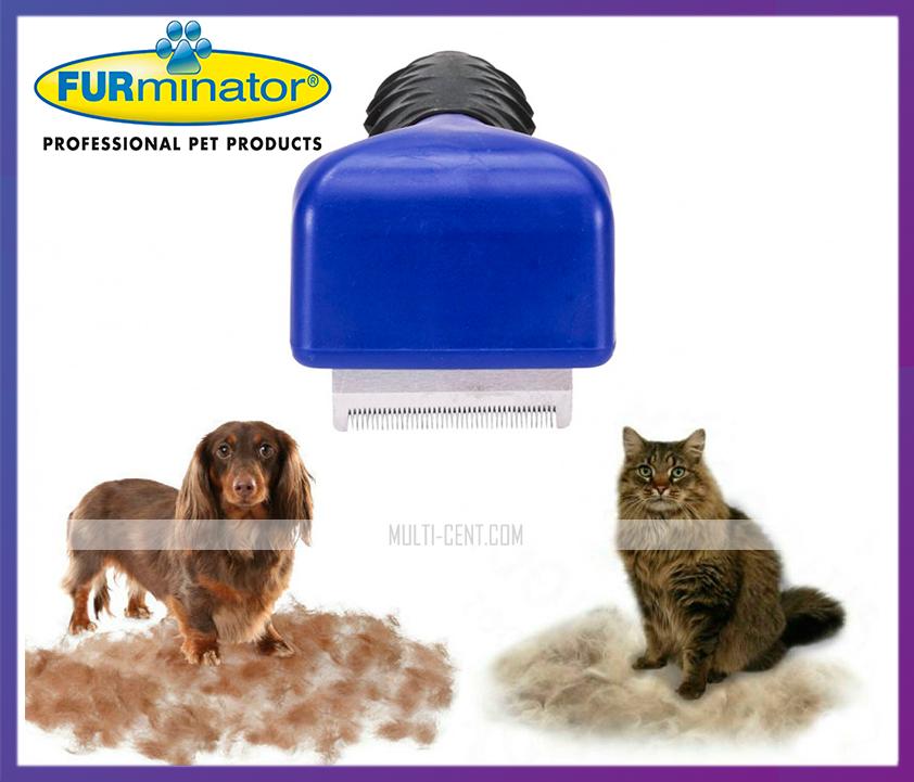 Фурминатор расческа для кошек и собак 4,5 см.
