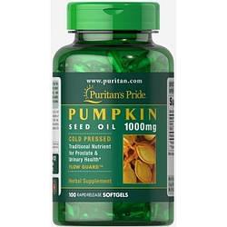 Масло Семян Тыквы Puritan's Pride Pumpkin Seed Oil 1000 100 caps