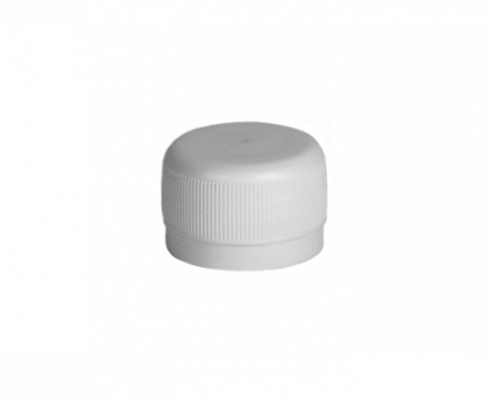 Крышка белая на бутылку (диаметр горловины 28 мм)