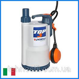Дренажный насос Pedrollo TOP 3 (15.6 м³, 10.5 м, 0.55 кВт)