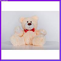 Плюшевый мишка Рональд 35 см Персиковый