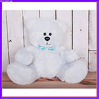Плюшевый мишка Рональд 35 см Белый
