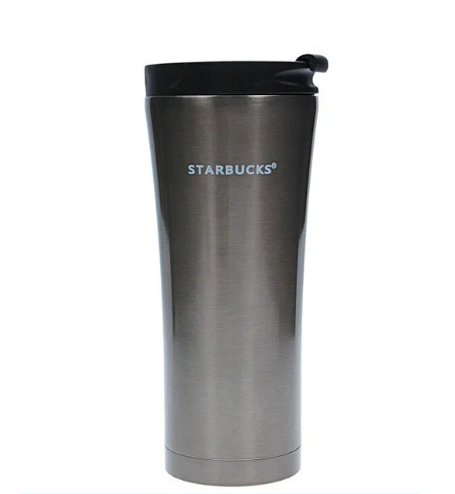 Термокружка Starbucks-3 500 мл | Тамблер Старбакс | Термос | Сіра