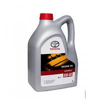 Синтетическое моторное масло Toyota 5w-40 5L
