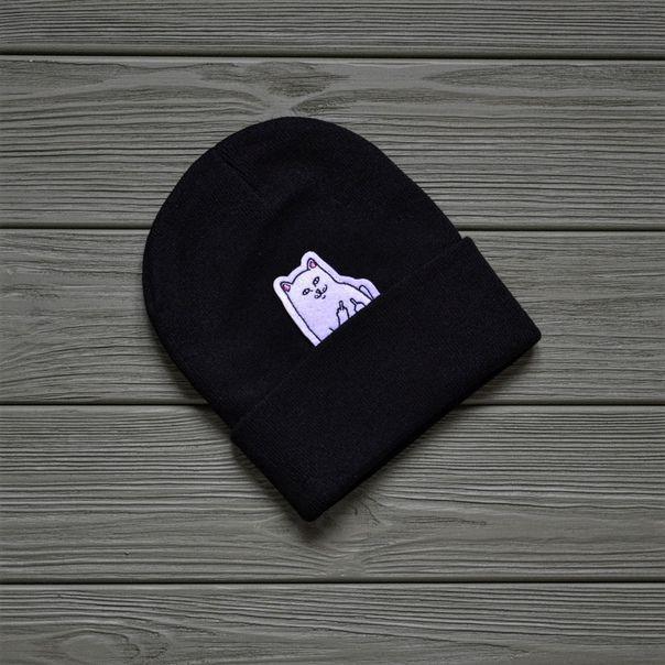 Шапка Ripndip D8627 черная
