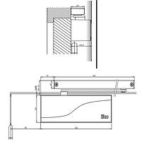 Дверной доводчик Iseo IS 65 металик, фото 2