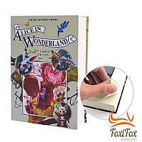 Книга сейф на ключе Alice in Wonderland 22 см