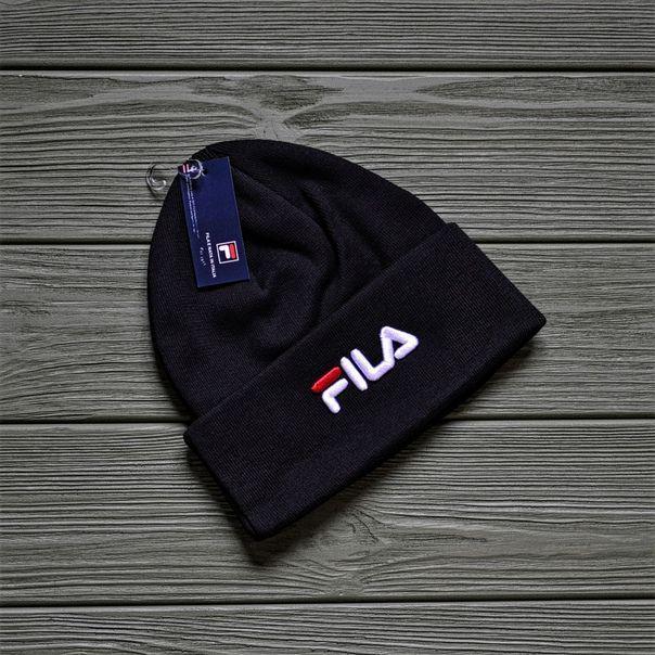 Шапка FILA D8631 черная