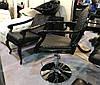 Крісло перукарське преміум Mozart перукарські крісла для салону краси, фото 6