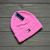 Шапка Tommy Hilfiger D8634 розовая