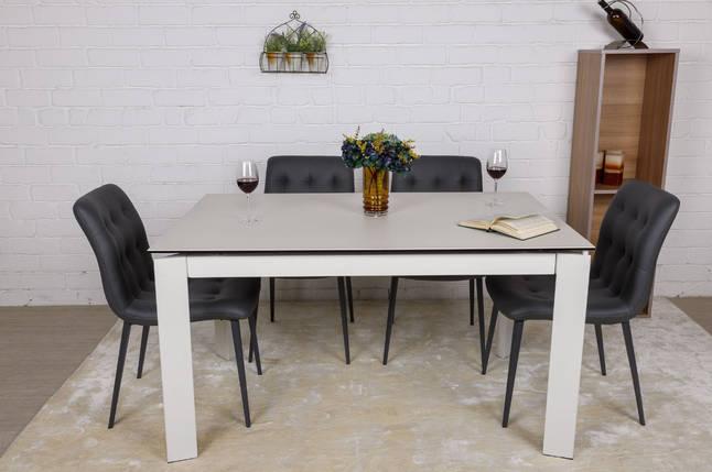 Стол раскладной Oslo 140/200 керамика белый матовый ТМ Nicolas, фото 2
