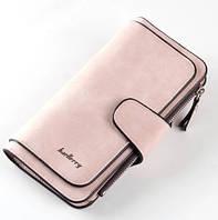 Женский кошелек Baellerry Forever светло розовый (пудра), фото 1
