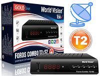 Комбинированный тюнер Foros Combo + прошивка спутниковых каналов