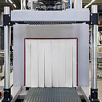 Термоштора силоксановая толщина 0,23 мм для термотоннелей белая