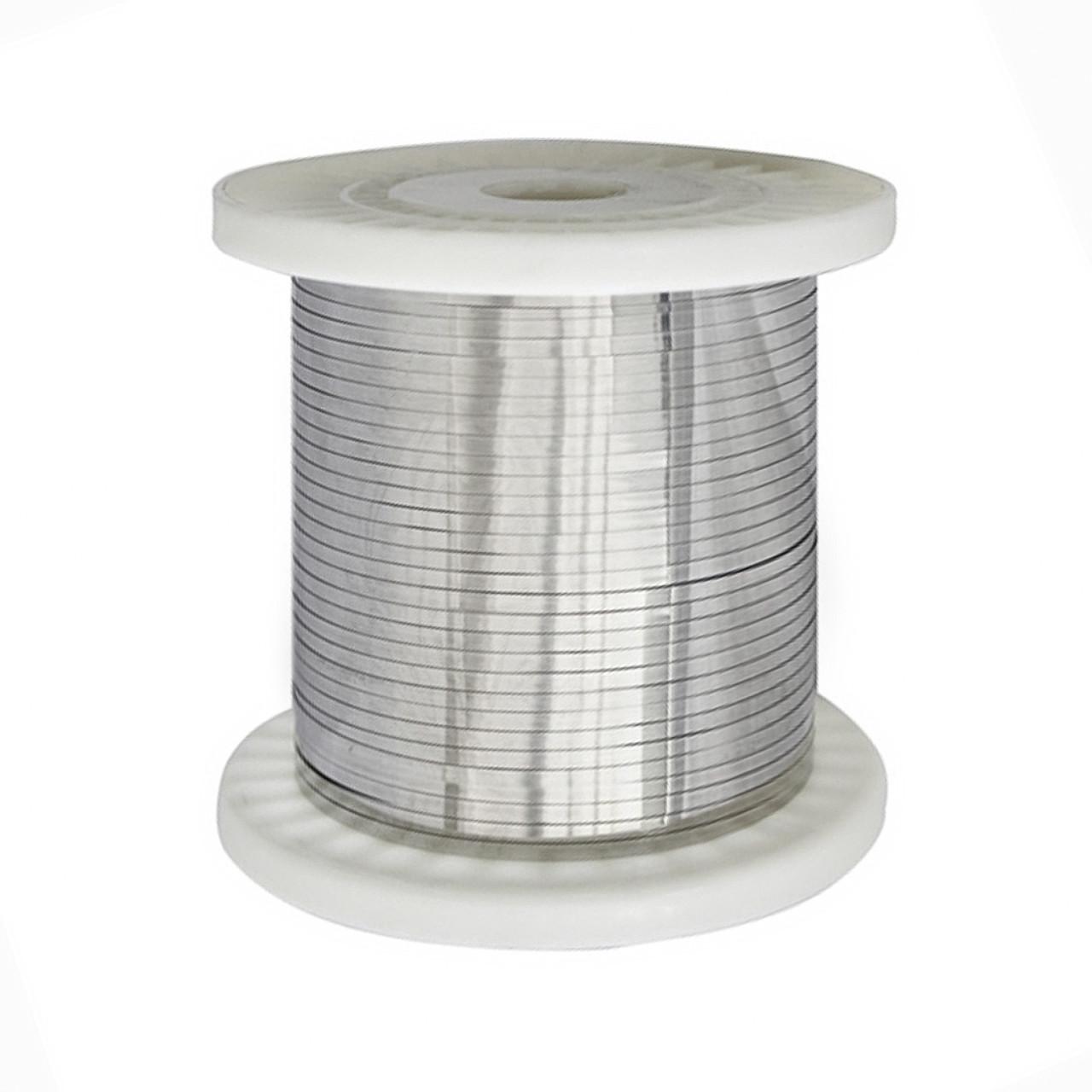 Нихромовая лента ширина 5 мм толщина 0.2 мм Х20Н80 PRC