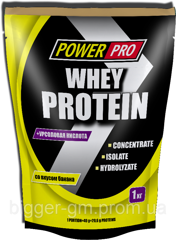 Power Pro Whey Protein - 1 кг - банан