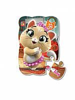 """Пазлы магнитные А5 """"44 Cats"""" VT3205 (""""Пилу в городе"""" (укр)), детская игрушка, подарок для ребенка"""