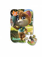 """Пазлы магнитные А5 """"44 Cats"""" VT3205 (""""Вспышка в городе"""" (укр)), детская игрушка, подарок для ребенка"""