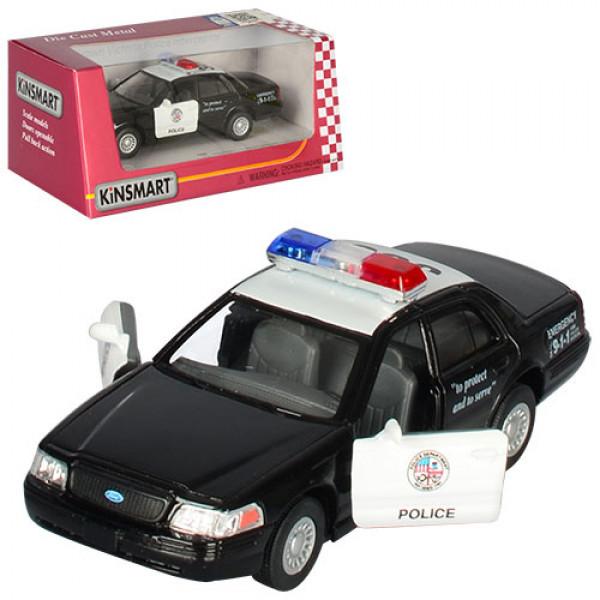 Машинка металл, инер-я, полиция, 1:42,12см