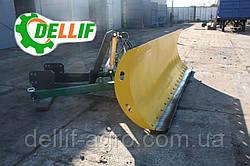 Отвал снегоуборочный ( лопата снегоуборочная ) Dellif 3000-4 на трактор  Т 150, ХТЗ