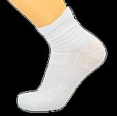 Носки баскетбольные спортивные р-р 40-45 нейлон-хлопок белые (JCB3306)