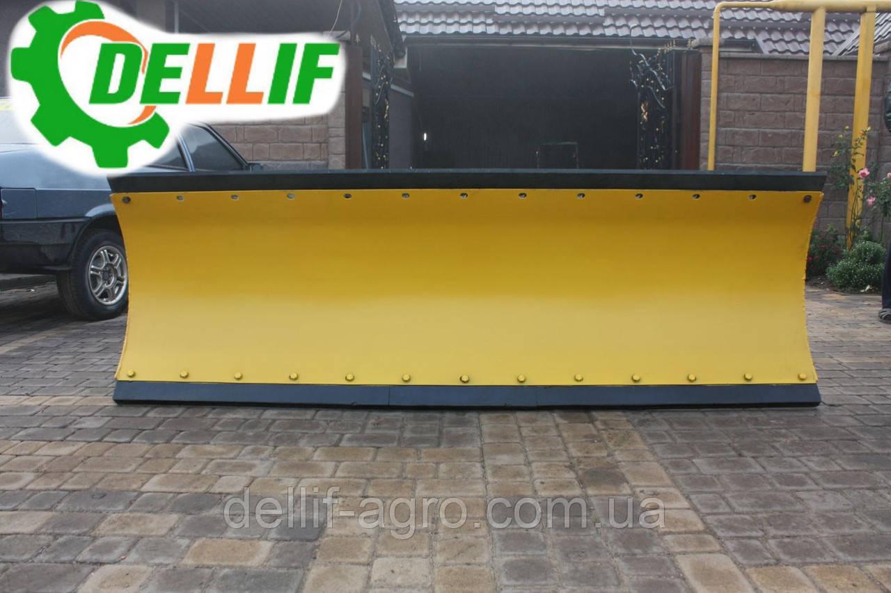 Отвал снегоуборочный оборотный( лопата снегоуборочная )  Dellif 2500 - 5 на трактор МТЗ,ЮМЗ,Т40
