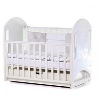 Кроватка детская Верес Соня ЛД8 маятник с ящиком (цвет: белый)