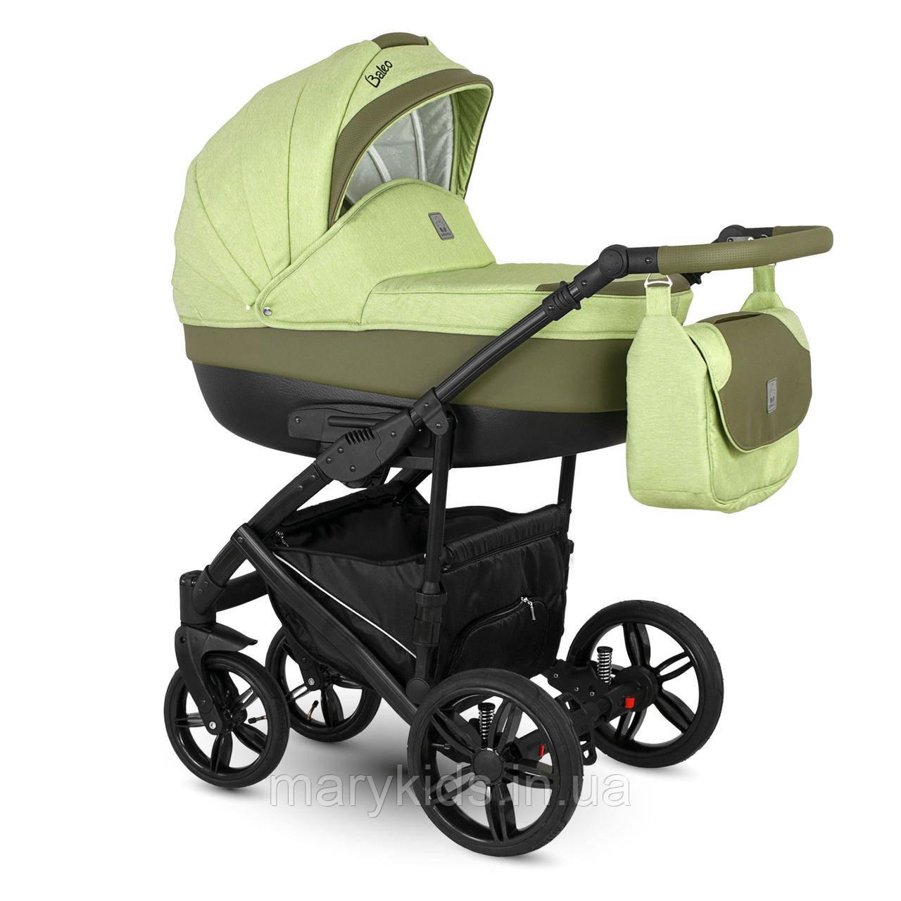 Детская универсальная коляска 2 в 1  Camarelo Baleo Ba-4
