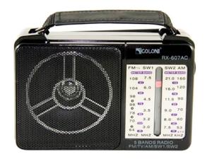 Радіоприймач Golon RX-607AC Black, фото 2