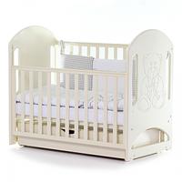 Кроватка детская Верес Соня ЛД8 маятник с ящиком (цвет: слон, кость)