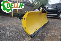 Відвал снігоприбиральний ( лопата снігоприбиральна) на навантажувач Dellif на трактор МТЗ,ЮМЗ,Т-40