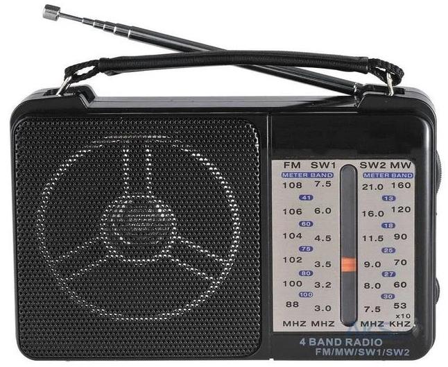 Радіоприймач Golon RX-607AC Black