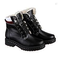 VM-Villomi Спортивные ботинки черного цвета на шнуровке