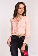 Блузка-болеро LUREX - персиковый цвет, L (есть размеры), фото 1