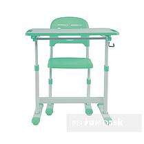 Растущая парта для ребенка FunDesk Piccolino II Green, фото 3