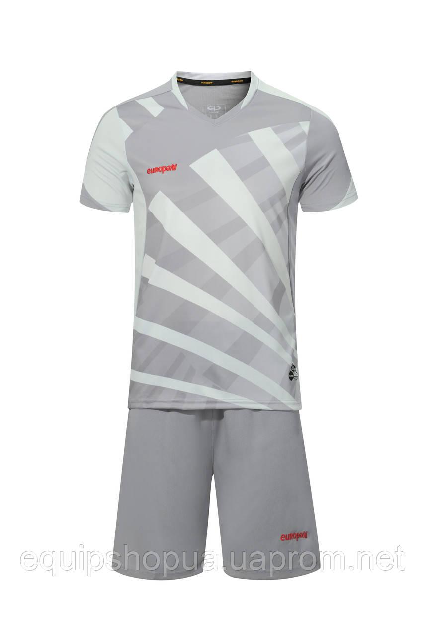 Футбольная форма Europaw 023 т.серо-серый