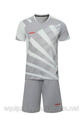 Футбольная форма Europaw 023 т.серо-серый, фото 2