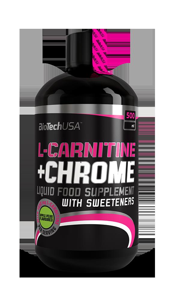 BioTech (USA) L-Carnitine 35 000 mg + Chrome (500мл.)