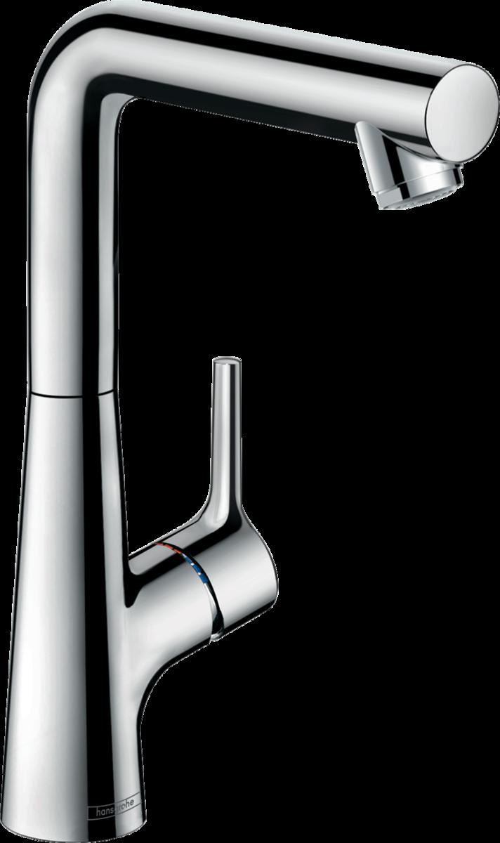 Смеситель для умывальника Hansgrohe Talis Select S 210 с поворотным изливом 120 *