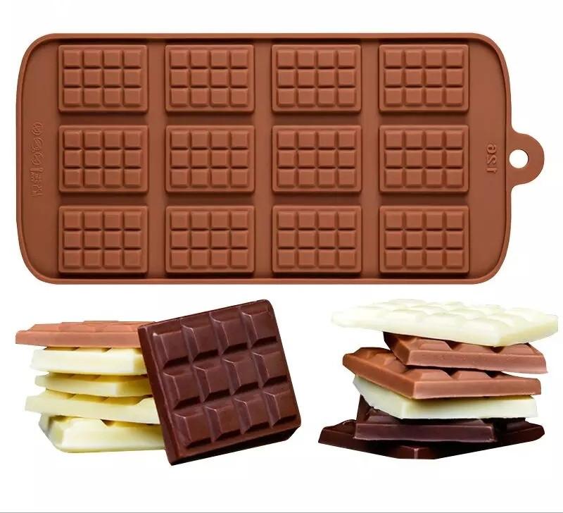 """Форма силіконова для шоколаду """"Плитки"""""""