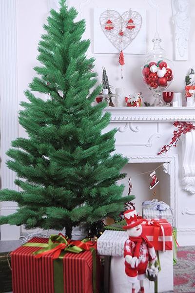 Искусственная ель литая 2,1м - Новогодняя елка от производителя