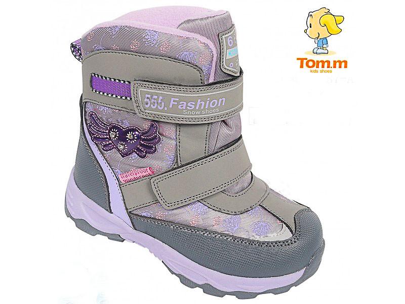 Детские зимние термо сапоги,сноубутсы  Tom.m  размеры 27-28-29-