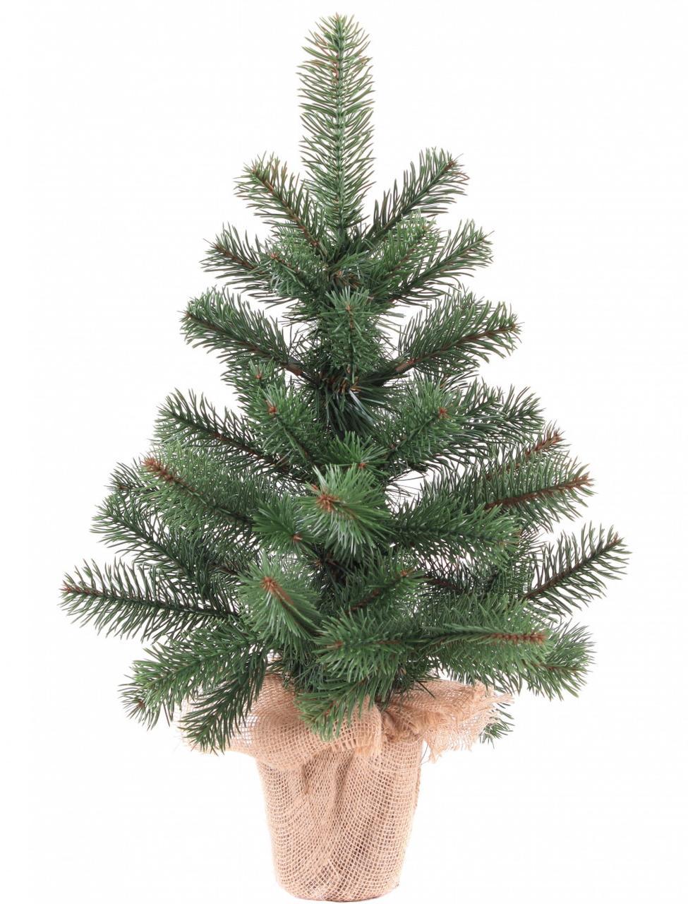 Декор Литая Елка Новогодняя Рождественская Ель Из Литой Искусственной Хвои 50х40см  (ProFit55L)