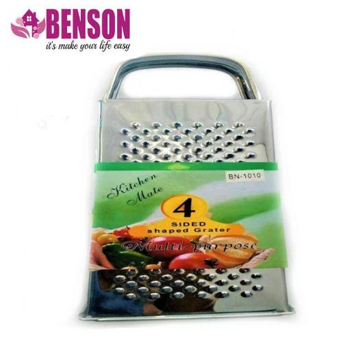 Тёрка из нержавеющей стали 4 стороны Benson BN-1010