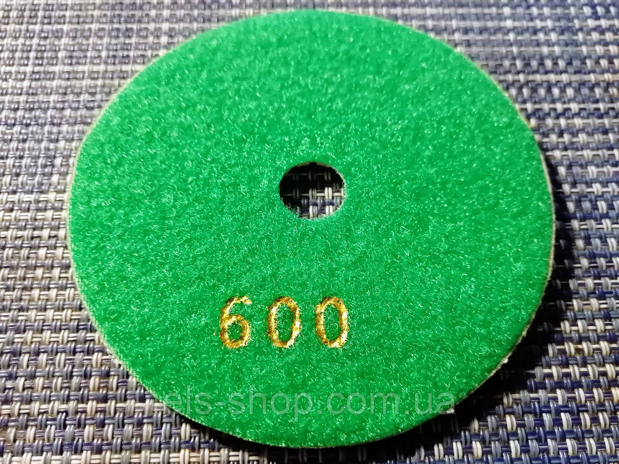 Гибкий алмазный круг (черепашка), TOMAX, Ø100 ММ, зернистость 600